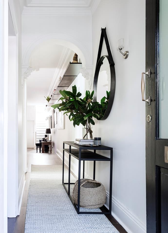 """When decorating an entrance, be sure to select [the right type of rug](https://www.homestolove.com.au/how-to-choose-the-right-rug-for-different-living-areas-5201