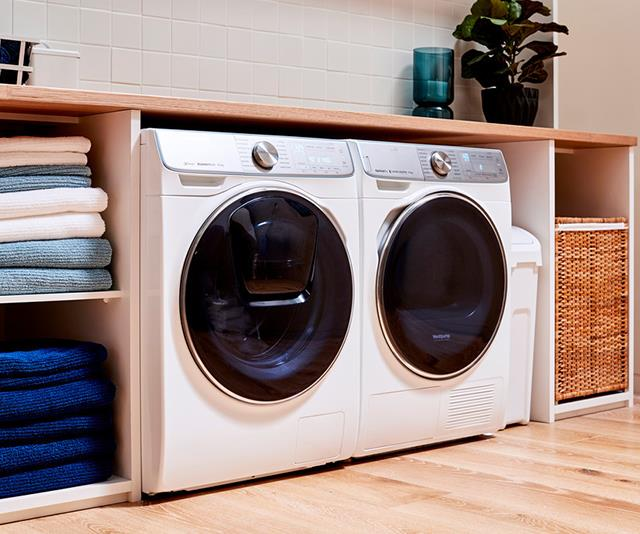 "*With a unique and innovative Q-Drum, [Samsung's QuickDrive](http://www.samsung.com/au/washing-machines/laundrytime|target=""_blank""