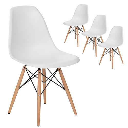 """Eames Replica DSW Dining Side Chairs (Set of 4), from $149, at [Temple & Webster](https://www.templeandwebster.com.au/Eames-Replica-DSW-Dining-Side-Chairs-TPWT2092.html
