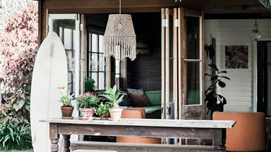 Byron Bay beach shack given Bohemian makeover
