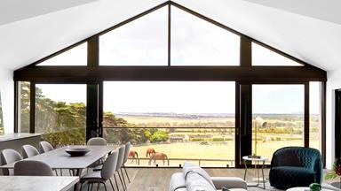 A luxurious homestead on a horse-racing stud