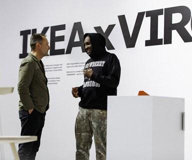 IKEA collaborates with Louis Vuitton designer, Virgil Abloh