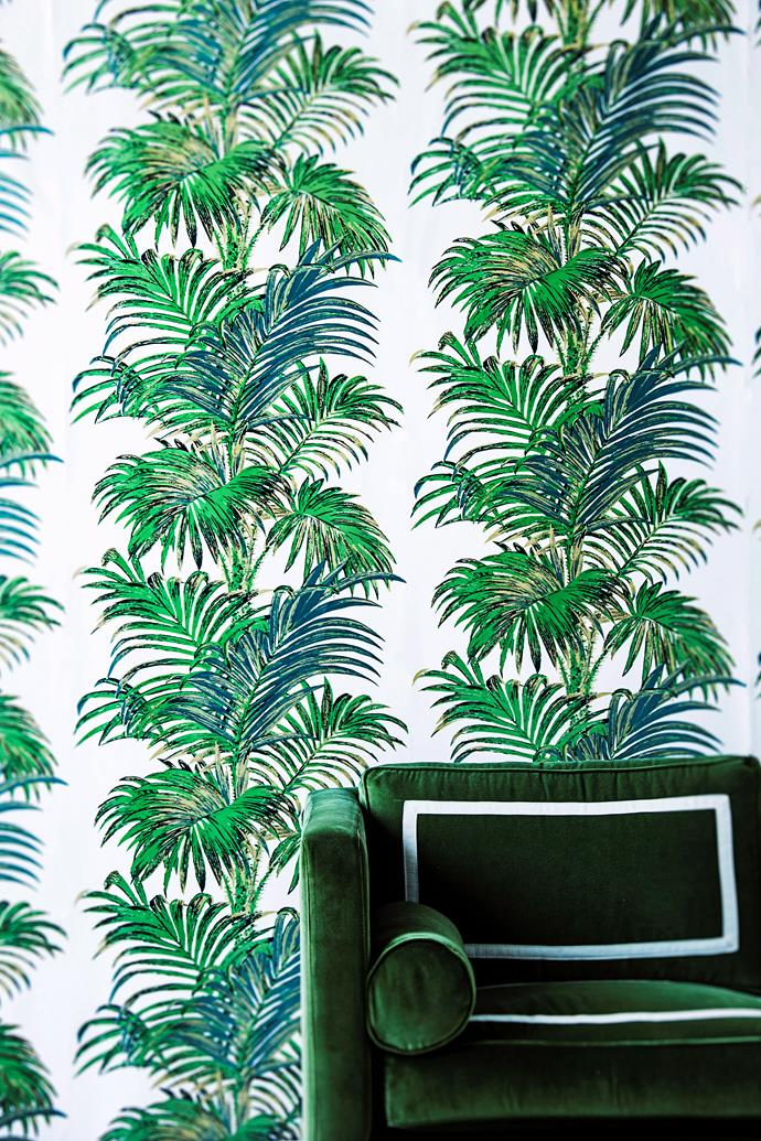 'Palms' is one of the most iconic designs created by Broadhurst. *Photo: Maree Homer / bauersyndication.com.au*