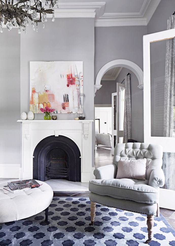 Start with your fixtures: Which colours will work with your furniture, art and flooring? *Image: Armelle Habib/Bauersyndication.com.au*