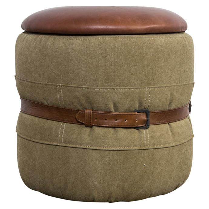United Strangers Army Stool, $495, Matt Blatt.