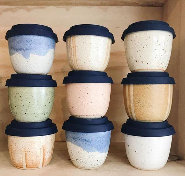 Travel Cup, from $45, Arcadia Scott Ceramics.