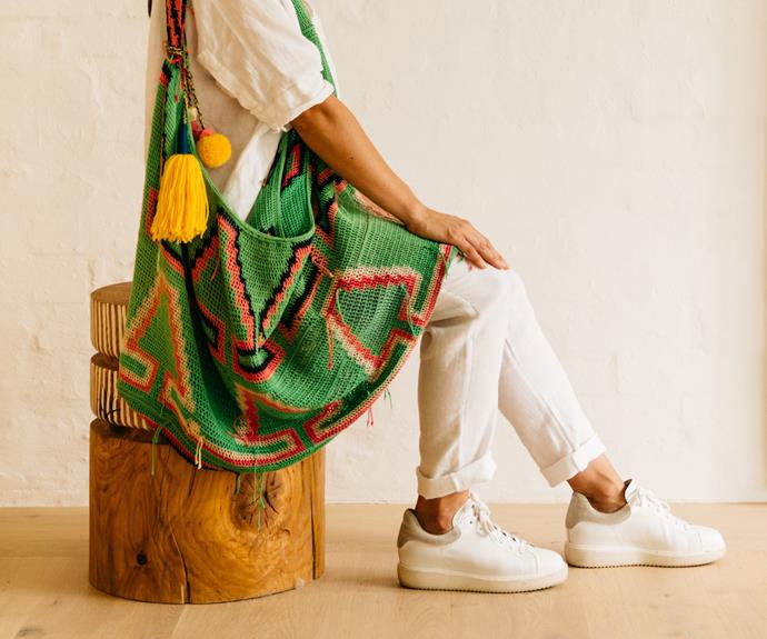 Highlands bilum bags, from $265.