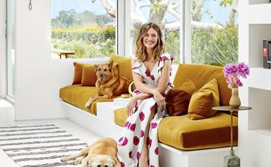 Mandy Moore's Mid-century modern home renovation
