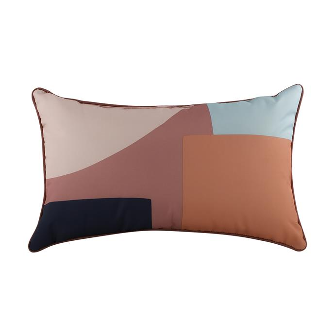 Abstract Rectangle Cushion, $8
