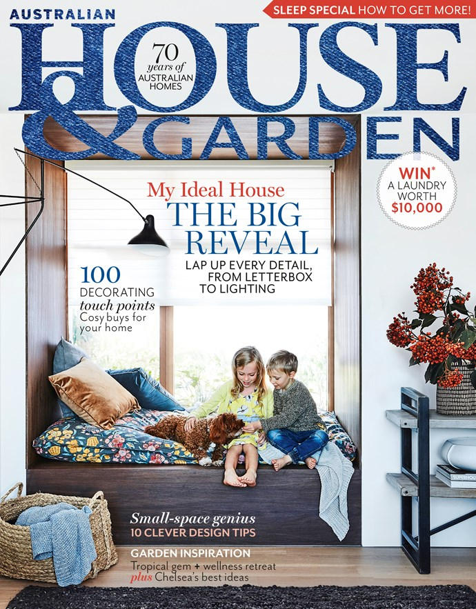 "**JULY 2, 2018: HERE IT IS! STEP INSIDE MY IDEAL HOUSE!** <br><br> It's with great pride that Australian House & Garden and Mirvac invite you to take a look inside My Ideal House. On sale today, the August issue of H&G details all the wonderful inclusions that make this beautiful house the ideal family home for now and into the future. Designed by Sydney architect Madeleine Blanchfield, styled by [Bowerbird Interiors](https://bowerbirdinteriors.com.au/|target=""_blank""