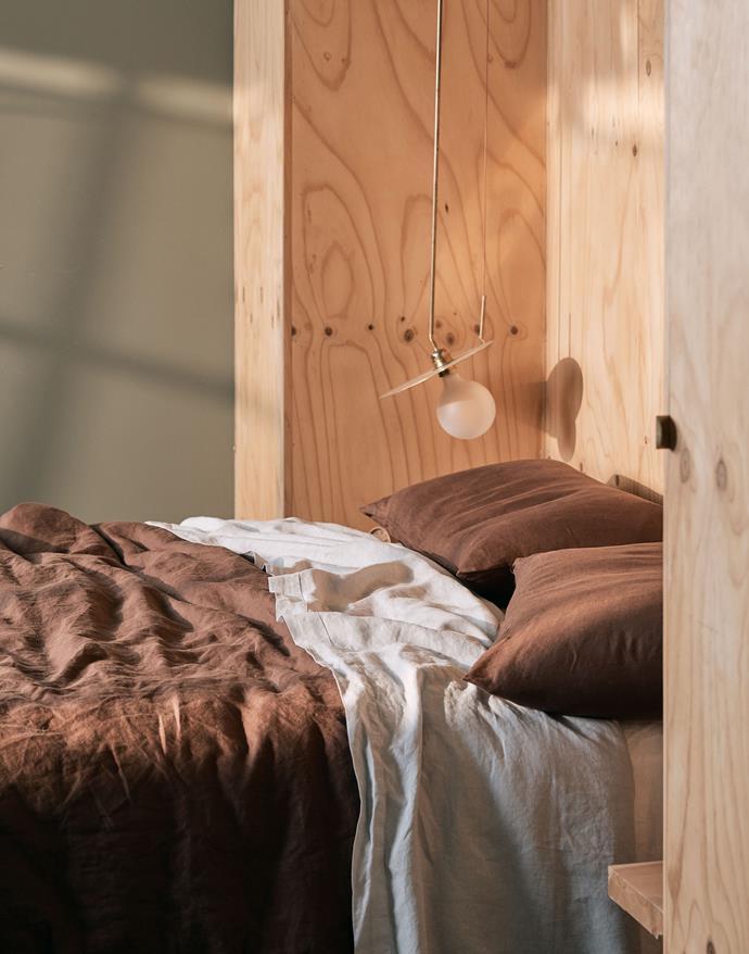 "100% Linen Duvet Cover in Cocoa, from $200, [In Bed](https://inbedstore.com/shop/bedding/100-linen-duvet-cover-in-cocoa/ target=""_blank"" rel=""nofollow"")"