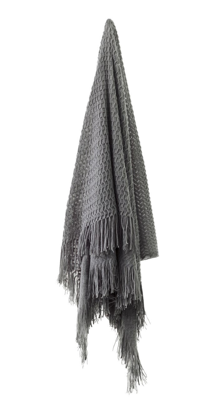 "Bianca 'Declan' throw in Charcoal, $59.95, [Temple & Webster](https://www.templeandwebster.com.au/Charcoal-Declan-Throw-Rug-TRDEC-BICN1919.html|target=""_blank""