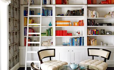 Handsome home libraries