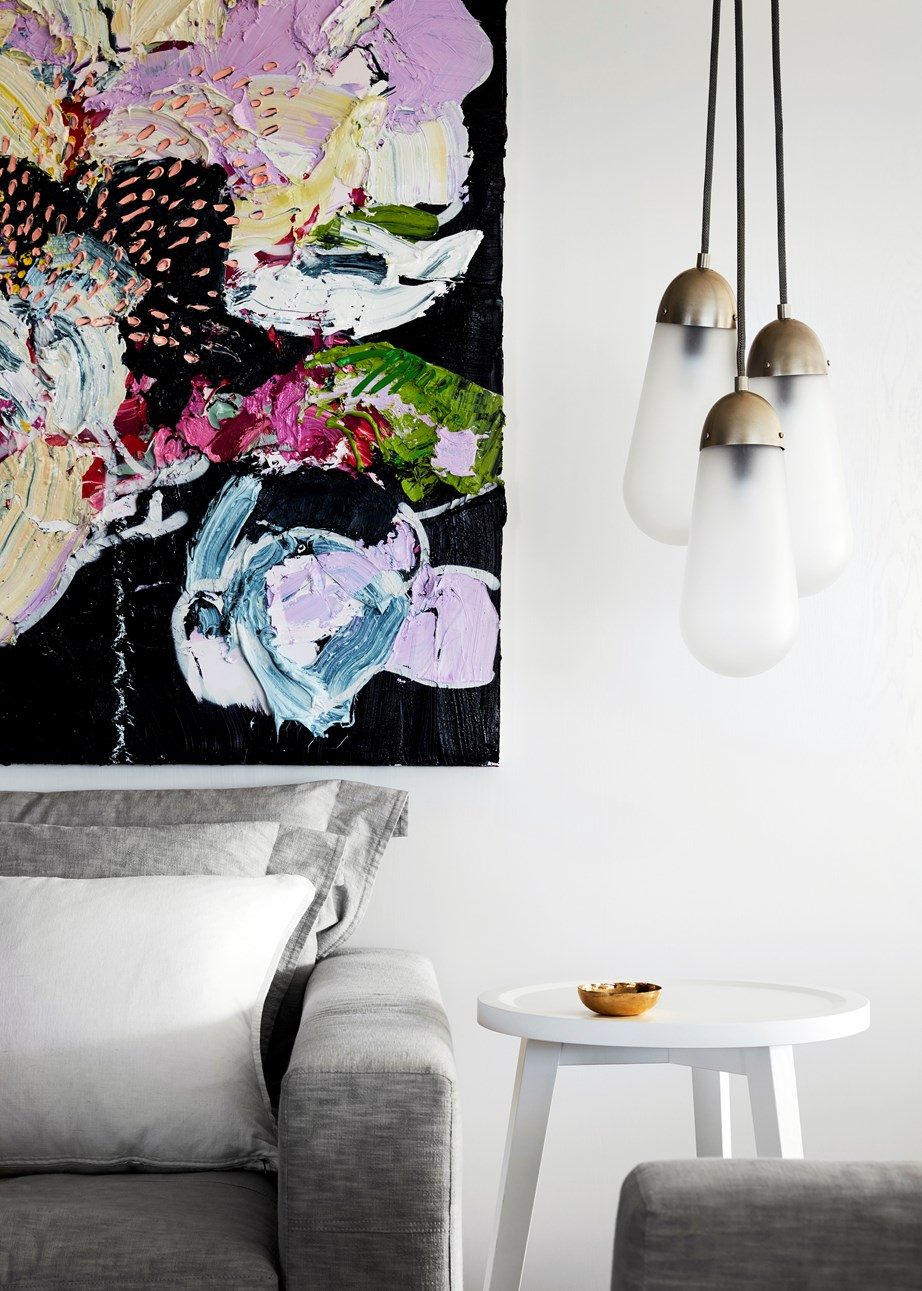 LED globes can be fitted into stylish, statement pendants.