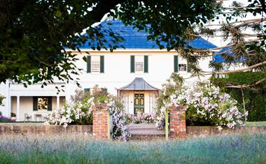 The breathtaking gardens of historic Brickendon Estate