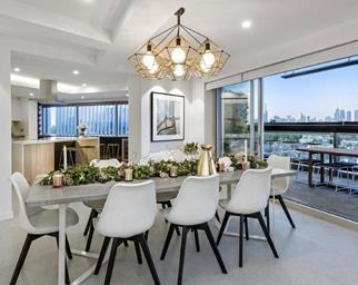 Scandi style dining room