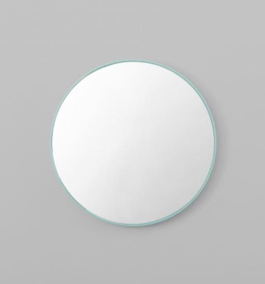 "Middle of Nowhere 'Flynn' round **mirror** (50 x 50cm), $210, from [Norsu Interiors](https://fave.co/2JjYu6x|target=""_blank""