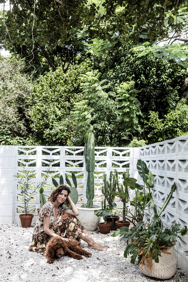 """If you've only got a small courtyard to work with, make [potted plants](https://www.homestolove.com.au/top-performing-potted-plants-for-your-garden-2183