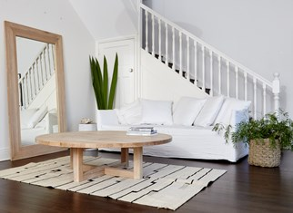 living room timber furniture staircase