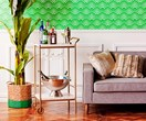 How to style a drinks trolley