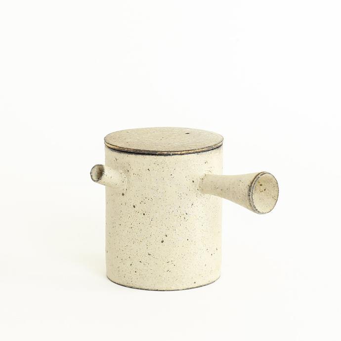"Japanese Tea Pot, $240, [Mosir Life](https://www.mosirlife.com/collections/ceramic/products/japanese-tea-pot-l-white target=""_blank"" rel=""nofollow"")"
