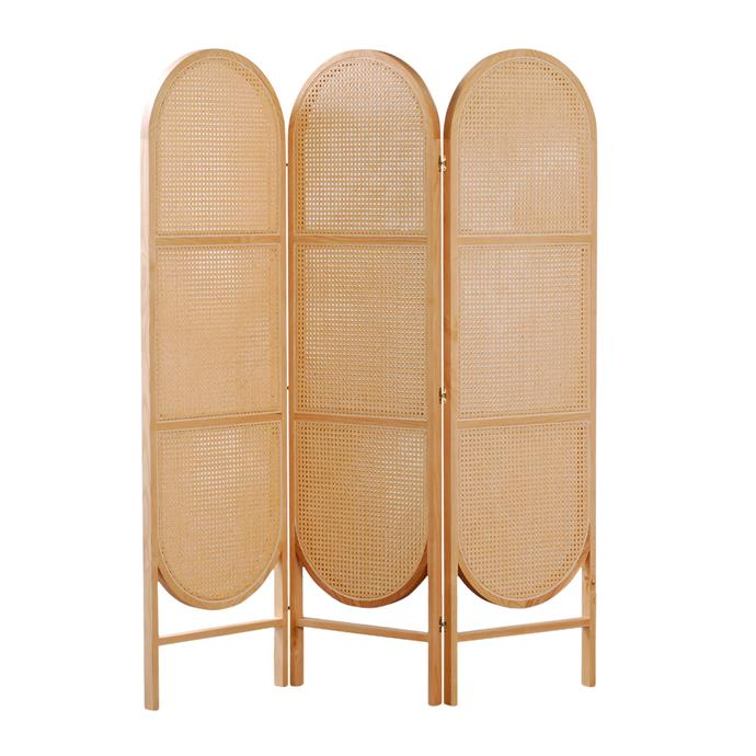 "Curio cane partition in Natural, $3480, [Clickon Furniture](https://www.clickonfurniture.com.au/|target=""_blank""