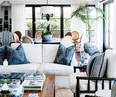 A rustic yet refined family home in Darling Point