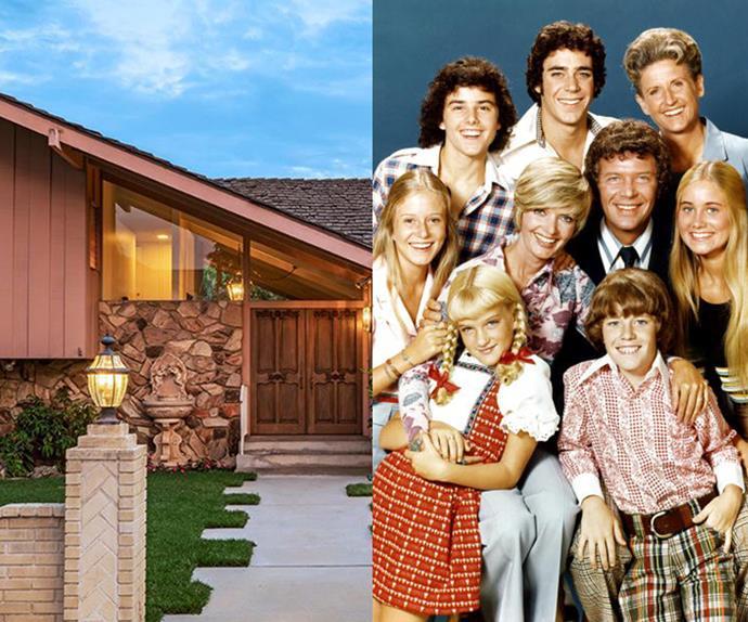 the brady bunch home