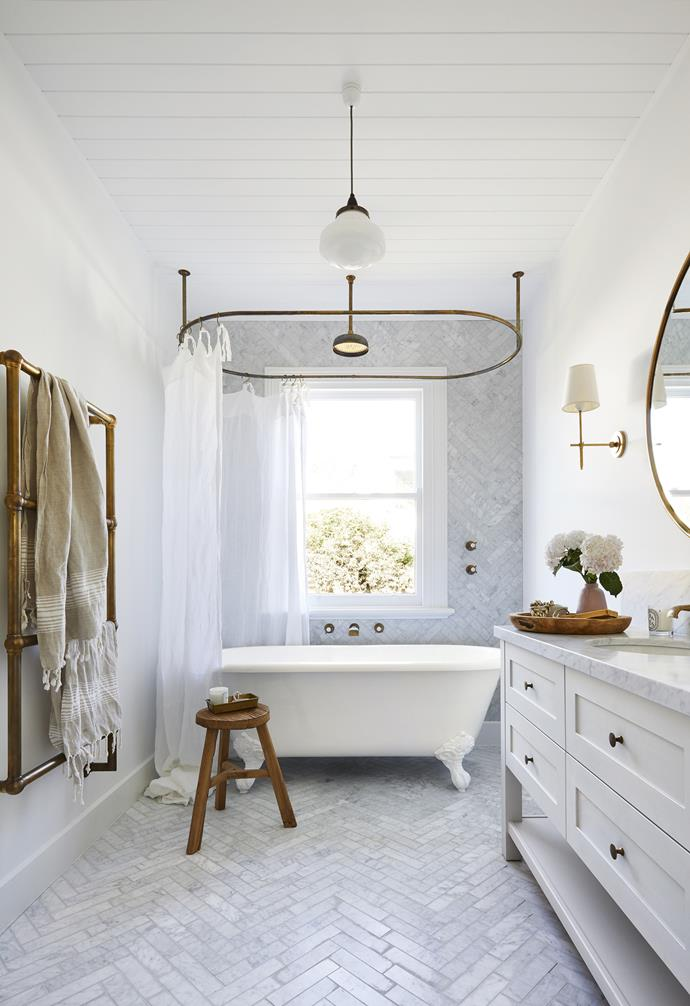 "**Bathroom** The home's history is echoed in fixtures and fittings from [The English Tapware Company](https://www.englishtapware.com.au/|target=""_blank""