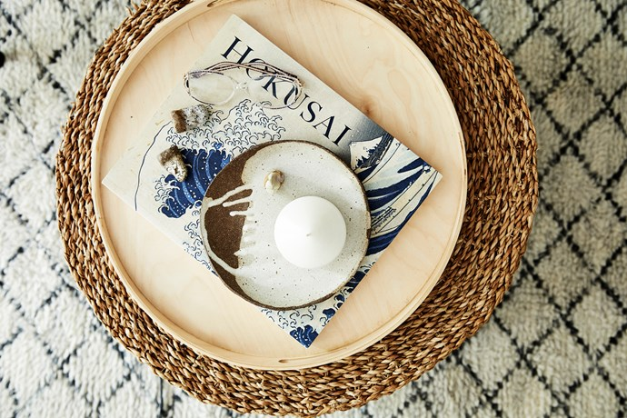 The tableware is part of Kimberly's Shibui series, one of her most popular collections, along with her Corazon Del Sol plant vessels. Kimberly's first collection, the Kanagawa series, was a play on glaze inspired by Hokusai's 19th Century piece, The Great Wave.