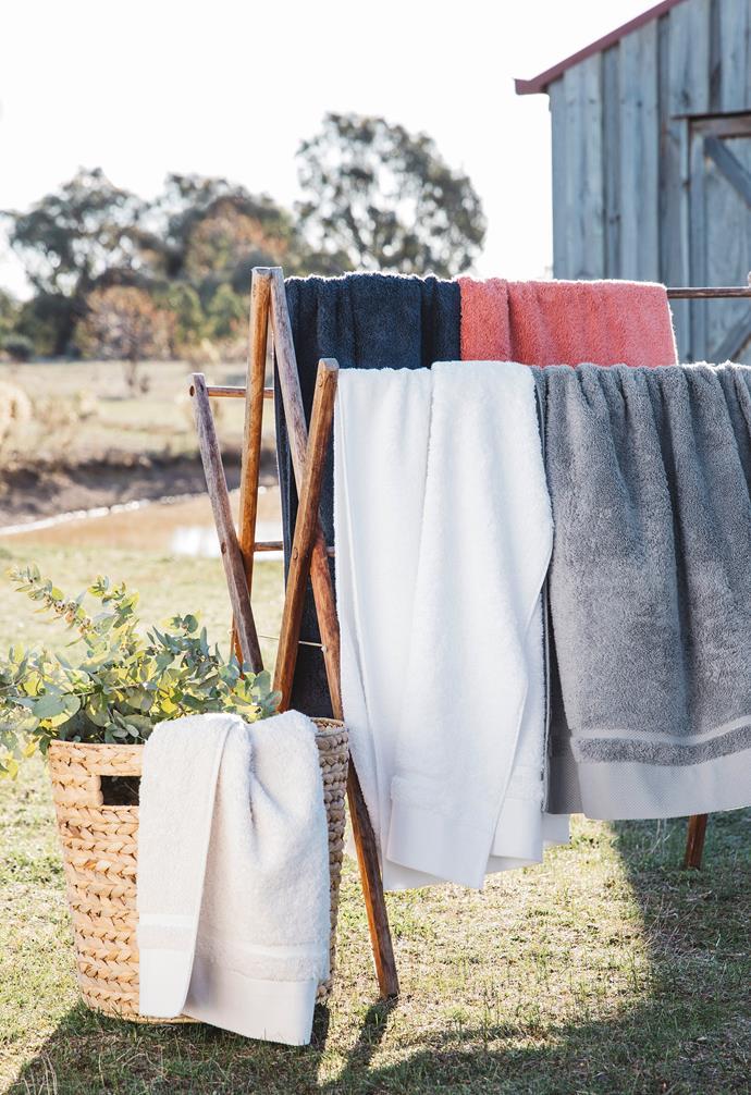 "Egyptian cotton bath towels, $15, [Target](https://www.target.com.au/ target=""_blank"" rel=""nofollow"")."