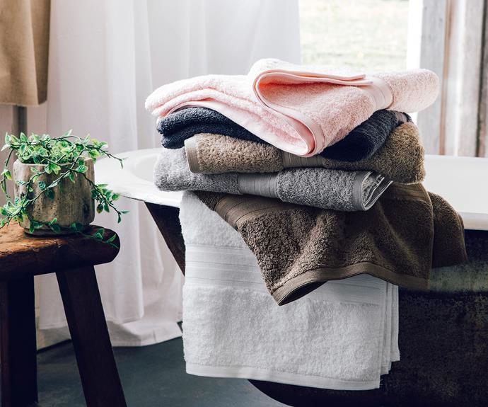 "Grandeur bath towels, $10m [Target](https://www.target.com.au/ target=""_blank"" rel=""nofollow"")."