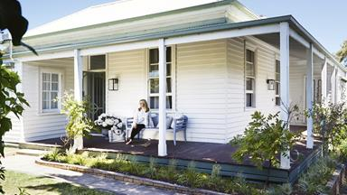 The Block's Dea and Darren renovated this charming seaside cottage
