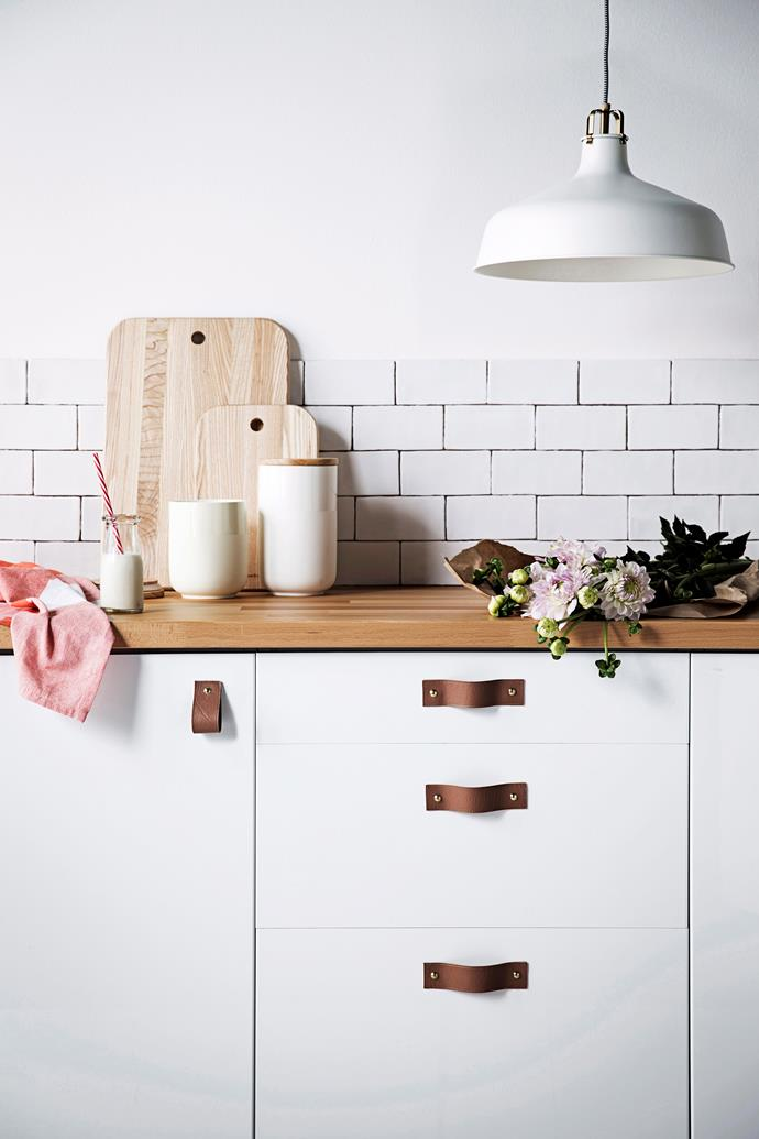 Drawers are convenient for under-bench shelving, perfect for storing heavy pots and pans. *Photo: James Henry / bauersyndication.com.au*