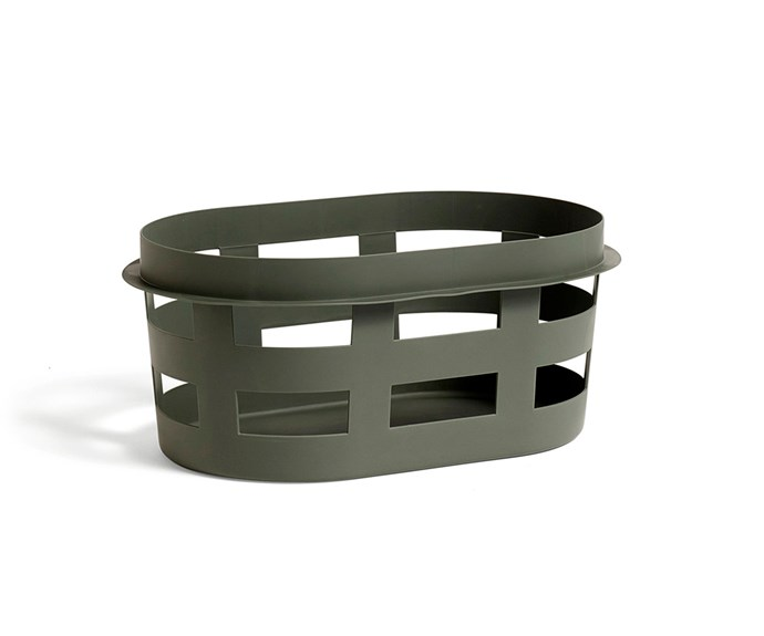 """Laundry basket in Army, $64, [Hay](http://hayshop.com.au/