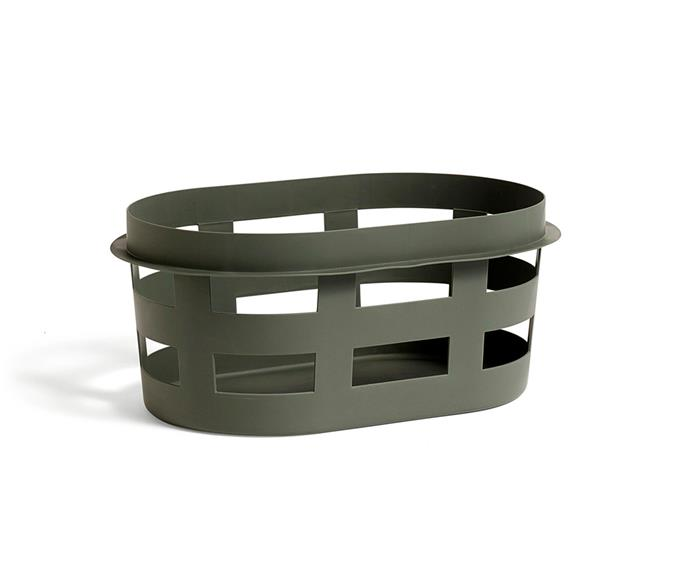 "Laundry basket in Army, $64, [Hay](http://hayshop.com.au/|target=""_blank""