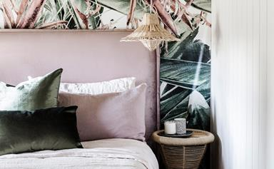 DIY: how to apply removable wallpaper