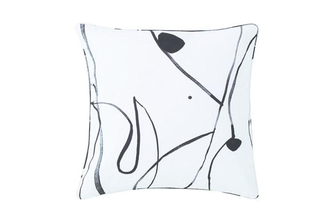 'Concerto' Square Cushion, $79.95