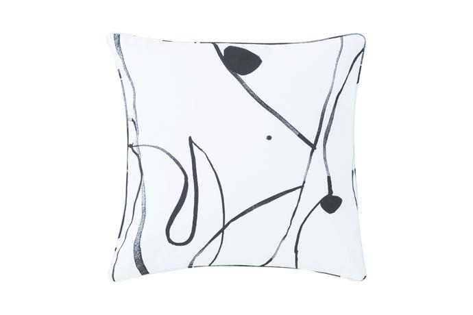'Concerto' Square Cushion, $79.95