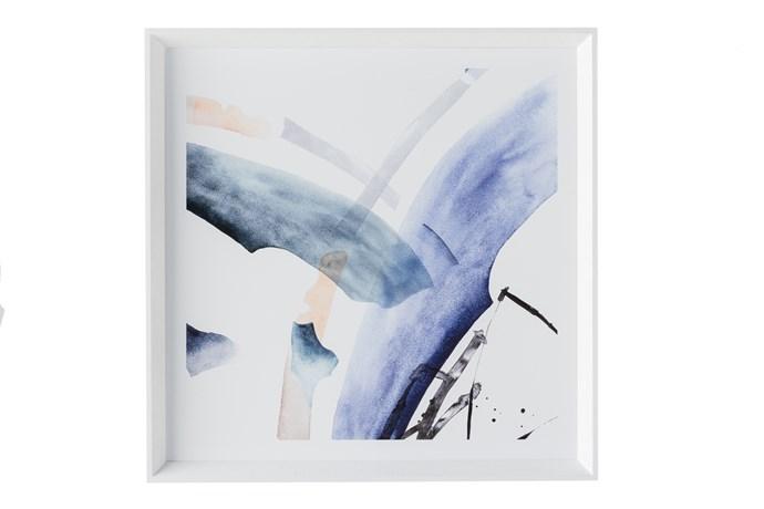 'Recital' Wall Art (framed print behind glass) 64cm x 64cm, $349.95.