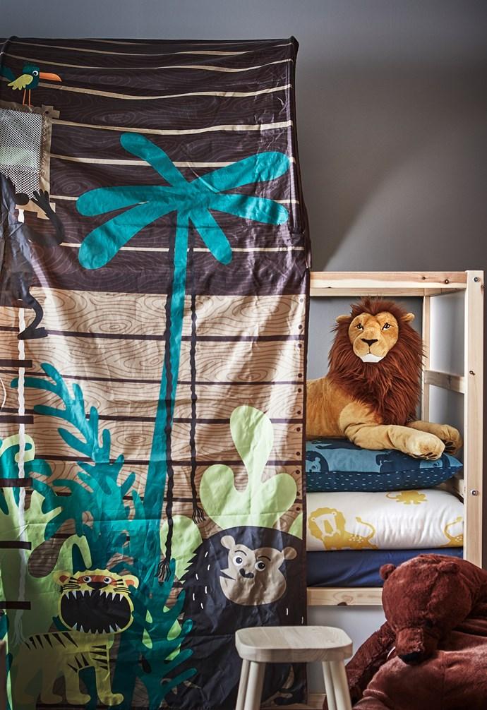 "DJUNGELSKOG  lion soft toy, $24.99, DJUNGELSKOG  bear soft toy, $29.99, [IKEA](https://www.ikea.com/au/en/|target=""_blank""|rel=""nofollow"")."
