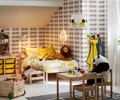 IKEA's new kids' collection explores the jungle