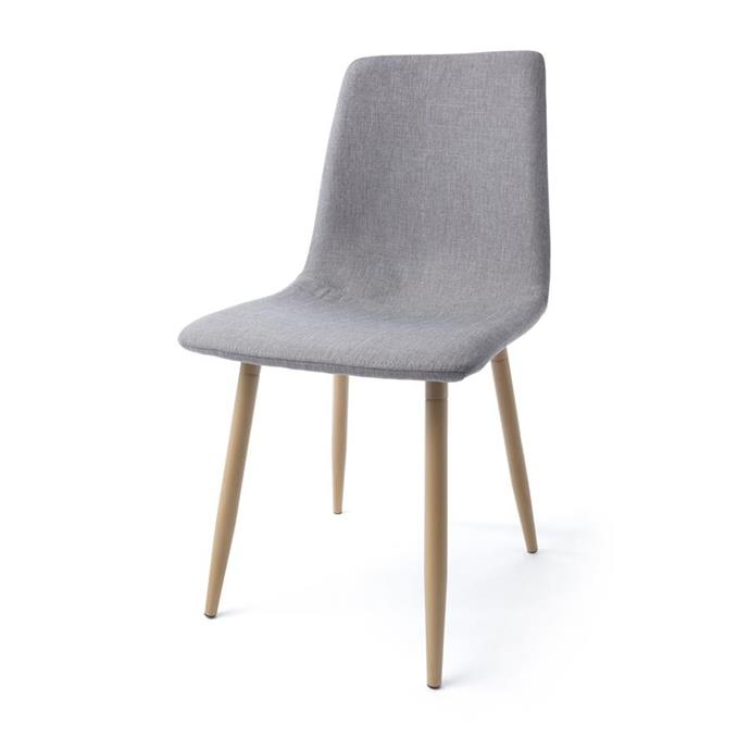 Upholstered dining chair, $39.