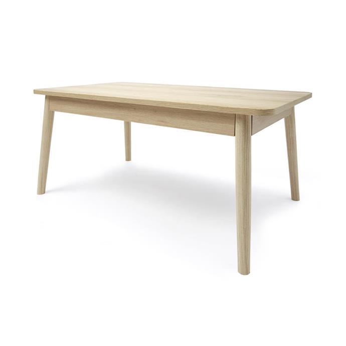 Oak look coffee table, $29.