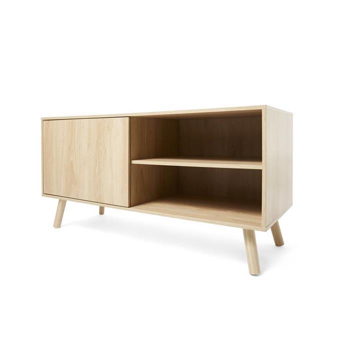 Oak look sideboard, $39.