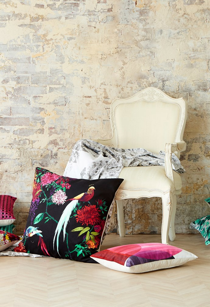 "**Repurpose original items in your home**. Reupholstering your favourite chair or repainting an old chest of draws can breathe new life into a cherished object or [antique](http://www.homestolove.com.au/how-to-make-antiques-work-in-a-modern-home-6616|target=""_blank"") and add an extra dimension to your bedroom's decor."