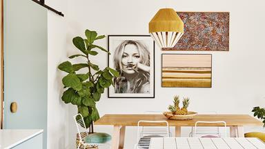 Step inside an interior stylist's colourful home with bold ideas