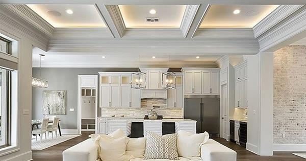 What Is A Coffered Ceiling Homes To Love