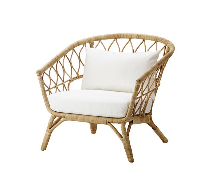 """**Style and function** Whether it's for feeding, reading, cuddling or just watching your little one snooze, parents need a cosy perch, too. 'Stockholm 2017' armchair, $349, [IKEA](https://www.ikea.com/