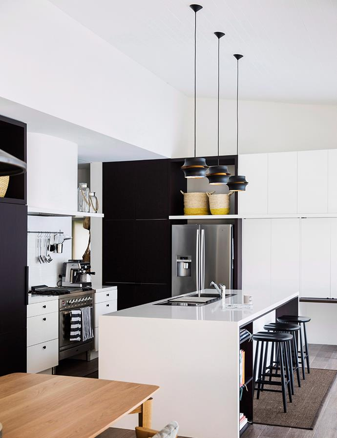 Ensure your working areas are properly lit and always keep your proportions in mind when choosing pendant lighting. *Photo: Chris Warnes / Bauersyndication.com.au*